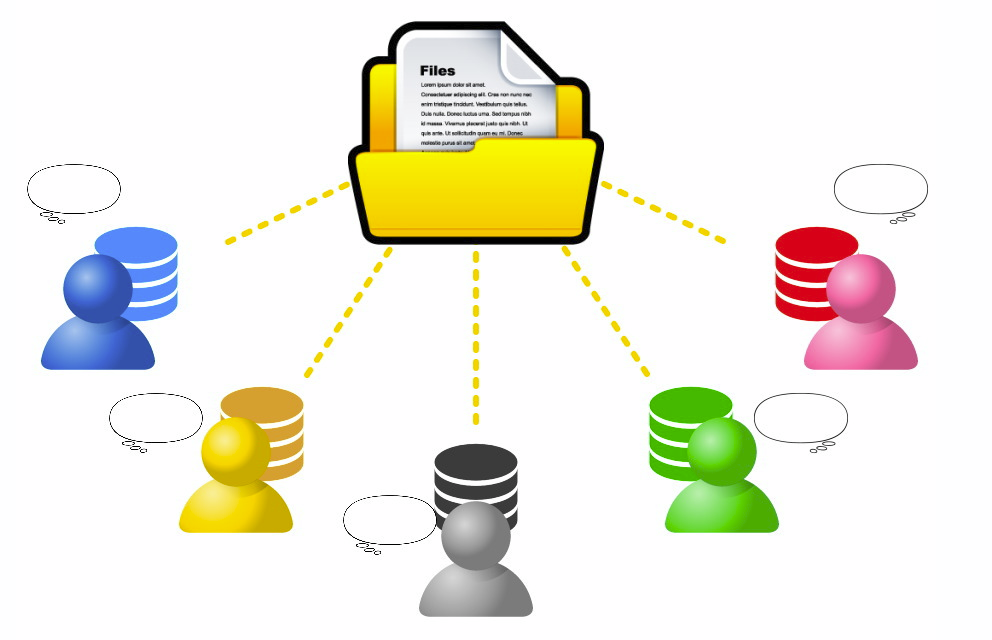 ファイル情報,共有,共同作業